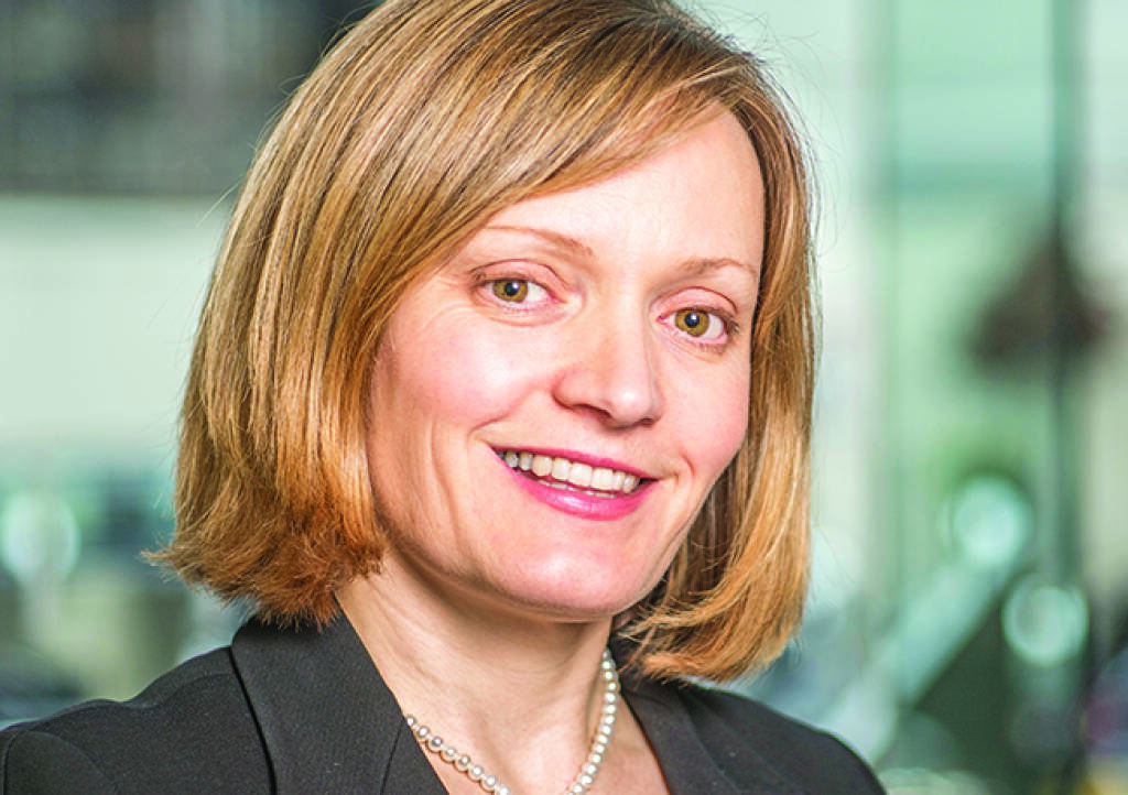 Katharine Dryer, Head of Investments, Fixed Income and Multi-Asset bei Jupiter, Bild: Jupiter (28.03.2018)