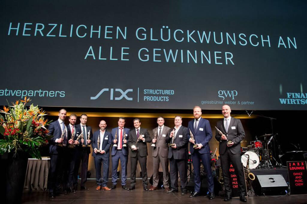 Bereits zum dreizehnten Mal prämieren die Swiss Derivative Awards die besten Strukturierten Produkte. Die Awards werden seit ihrer ersten Verleihung im Jahre 2006 von SIX als Hauptsponsorin, unterstützt. Bildquelle: www.six-swiss-exchange.com, © Aussendung (03.04.2018)