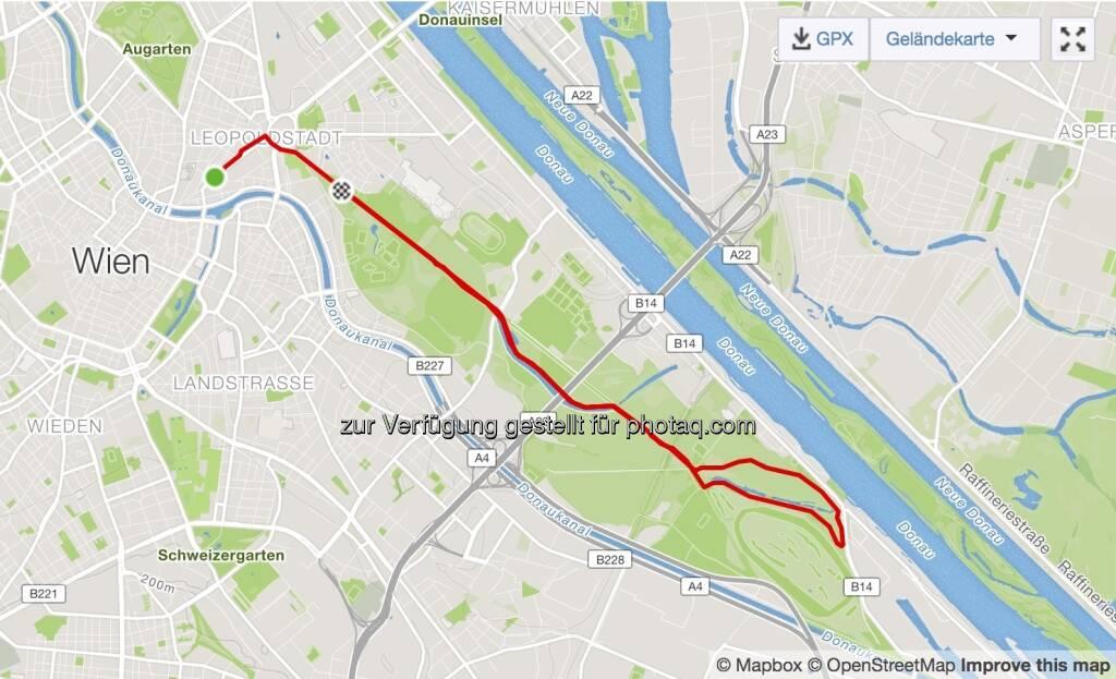 Laufen Hauptallee (10.04.2018)