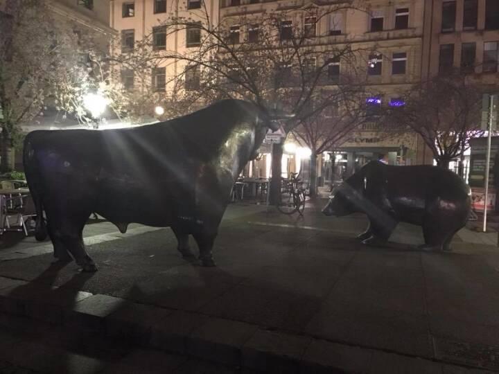 Bulle Bär Frankfurt