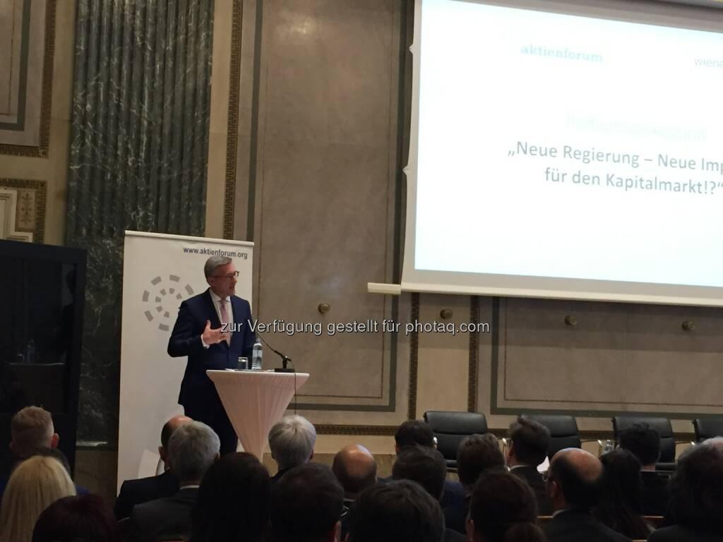 Robert Ottel, Präsident des Aktienforums (12.04.2018)