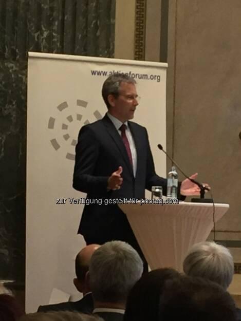 Finanzminister Löger (12.04.2018)