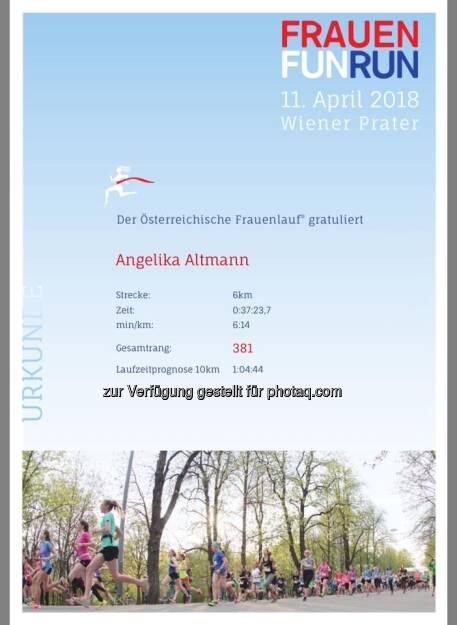 Frauen Fun Run (12.04.2018)