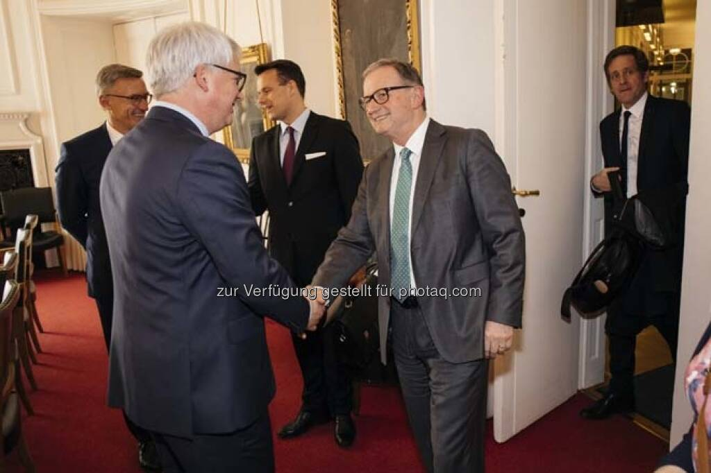 """Podiumsdiskussion """"Neue Regierung – Neue Impulse für den Kapitalmarkt!?"""", © Wiener Börse / Aktienforum (12.04.2018)"""