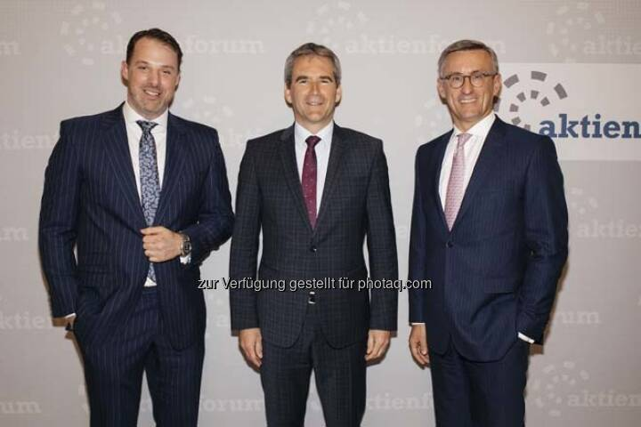 Karl Fuchs, Hartwig Löger, Robert Ottel