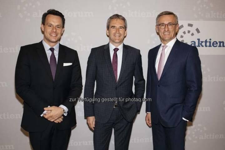Christoph Boschan, Hartwig Löger, Robert Ottel