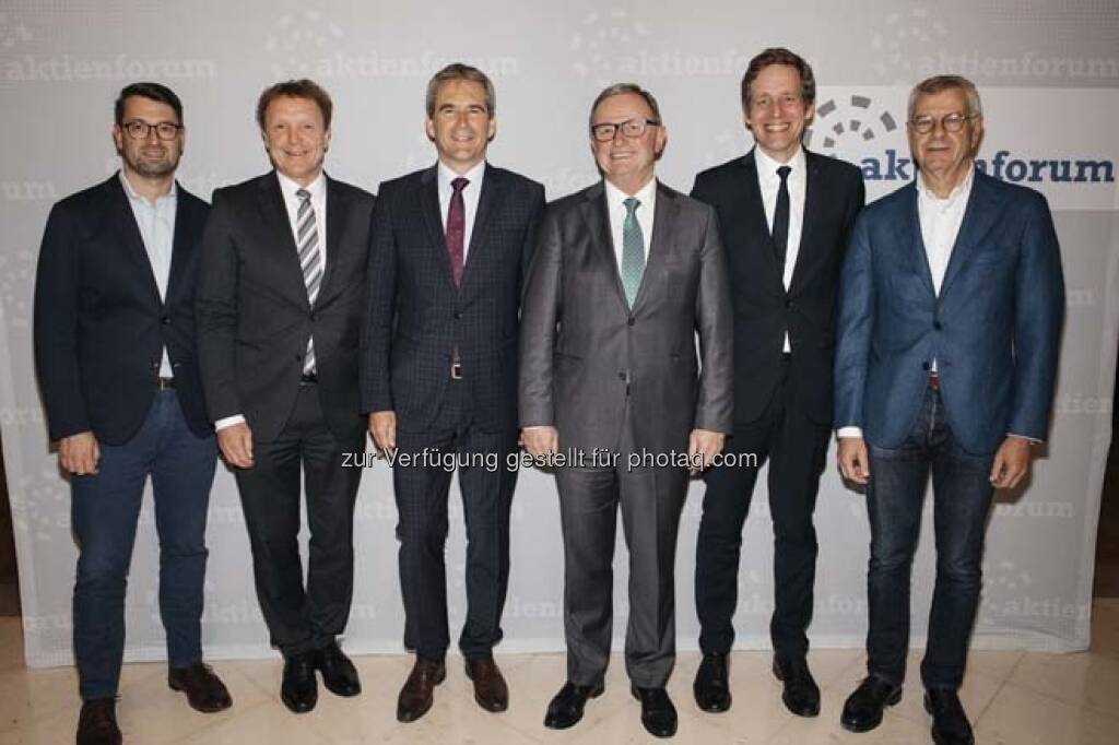 Politische Kapitalmarktrunde, © Wiener Börse / Aktienforum (12.04.2018)