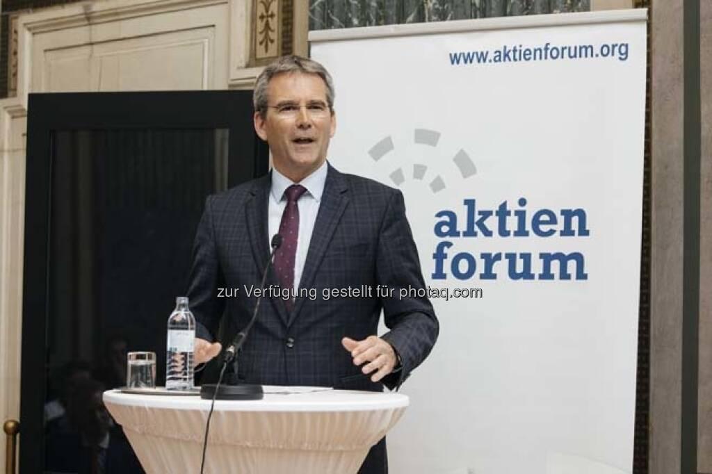 Hartwig Löger, © Wiener Börse / Aktienforum (12.04.2018)