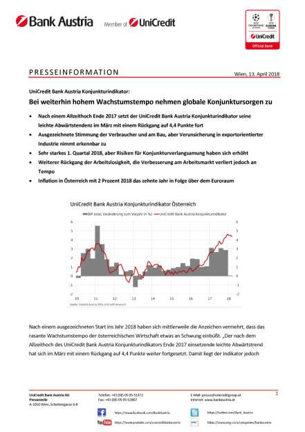 Unicredit: Bei weiterhin hohem Wachstumstempo nehmen globale Konjunktursorgen zu, Seite 1/5, komplettes Dokument unter http://boerse-social.com/static/uploads/file_2422_bei_weiterhin_hohem_wachstumstempo_nehmen_globale_konjunktursorgen_zu.pdf (13.04.2018)