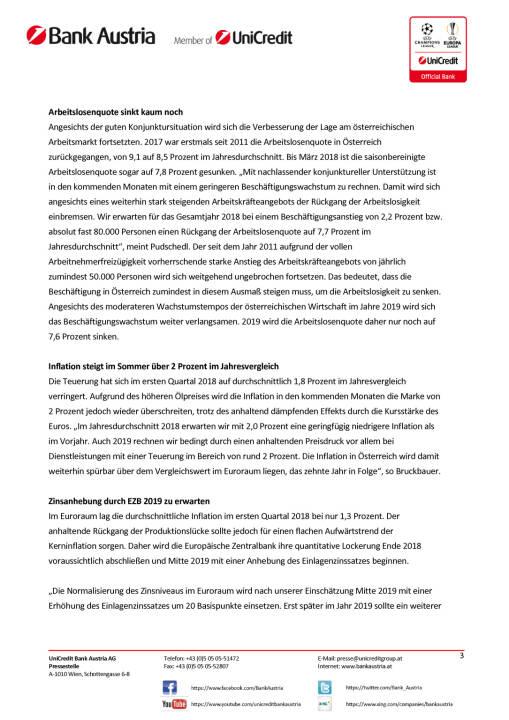 Unicredit: Bei weiterhin hohem Wachstumstempo nehmen globale Konjunktursorgen zu, Seite 3/5, komplettes Dokument unter http://boerse-social.com/static/uploads/file_2422_bei_weiterhin_hohem_wachstumstempo_nehmen_globale_konjunktursorgen_zu.pdf