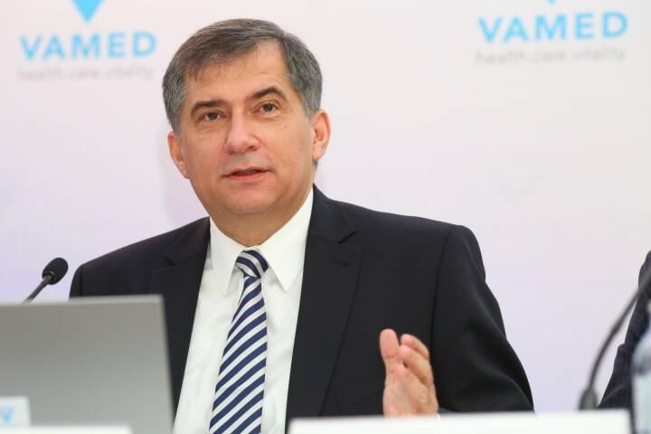 Vamed AG: Von der Poliklinik bis zum Universitätskrankenhaus - VAMED baut internationale Präsenz weiter aus; Der international führende Gesundheitsdienstleister VAMED hat 2017 sein zwölftes Rekordjahr in Folge erzielt. Bis 2020 will die VAMED ihre globale Präsenz von derzeit mehr als 80 auf 100 Länder erweitern. Im Bild: Dr. Ernst Wastler, Vorstandsvorsitzender der VAMED AG. Credit: VAMED AG