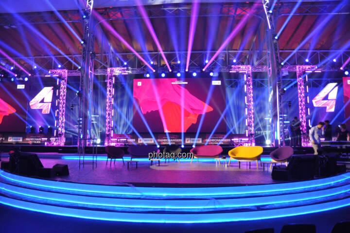 4Gamechangers, Bühne, Couch