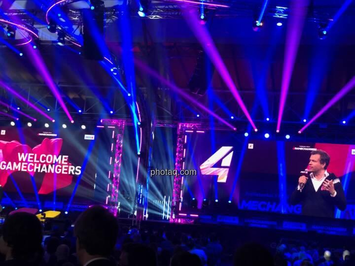 4gamechangers Markus Breitenecker (Puls4) on stage