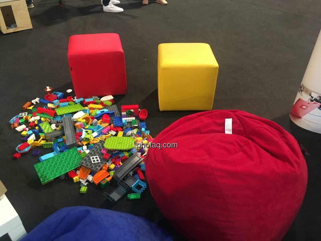 Eindrücke vom 4Gamechangers Festival, Lego, DavinciLab, © Michaela Mejta + diverse Handypics (18.04.2018)