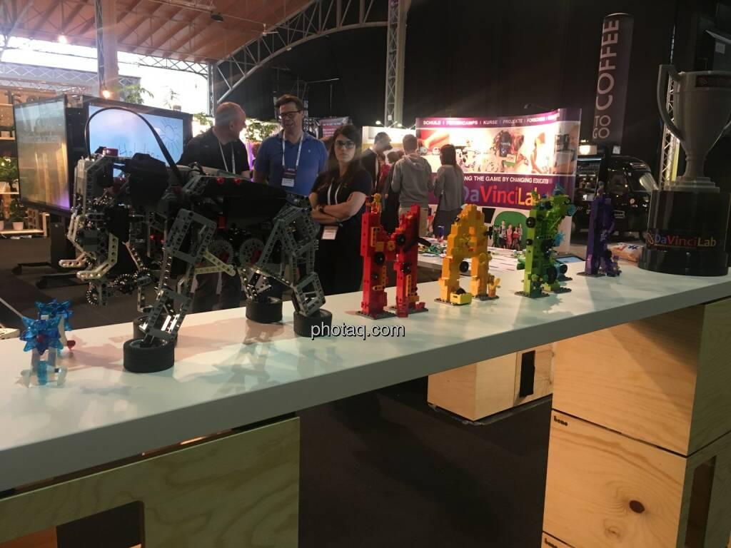Eindrücke vom GameChangers Festival, DavinciLab, © Michaela Mejta + diverse Handypics (18.04.2018)