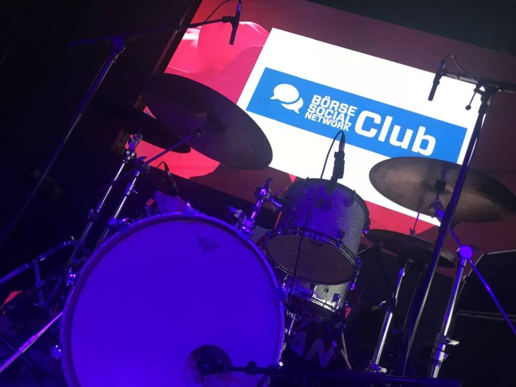 Börse Social Network Club on stage, © Michaela Mejta + diverse Handypics (19.04.2018)