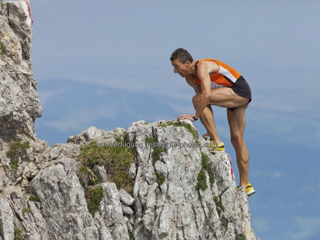 ESPA - Ötscher-Marathon: Vorjahressieger Salameh Al Aqra strebt seinen zehnten Gesamtsieg an, Foto Rainer Mirau (06.06.2013)