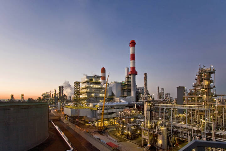 OMV Aktiengesellschaft: Die OMV Raffinerie Schwechat wird 60; Bild: OMV