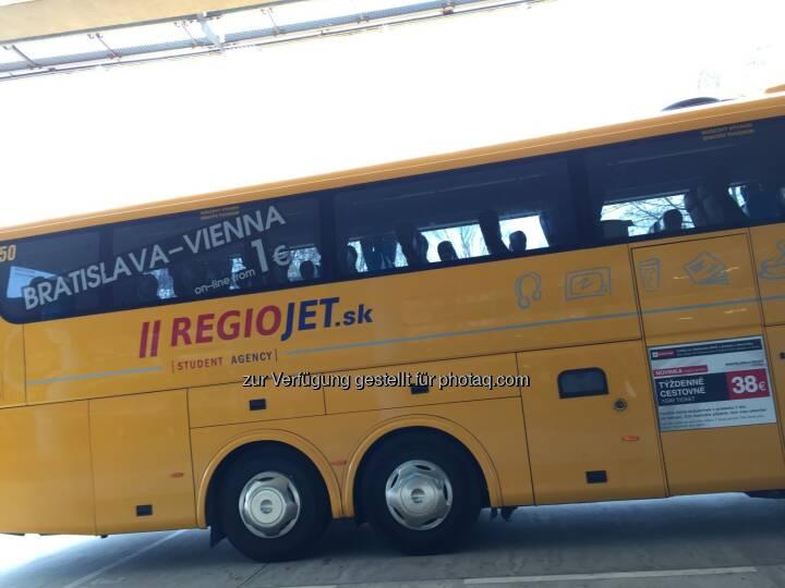 RegioJet-Bus