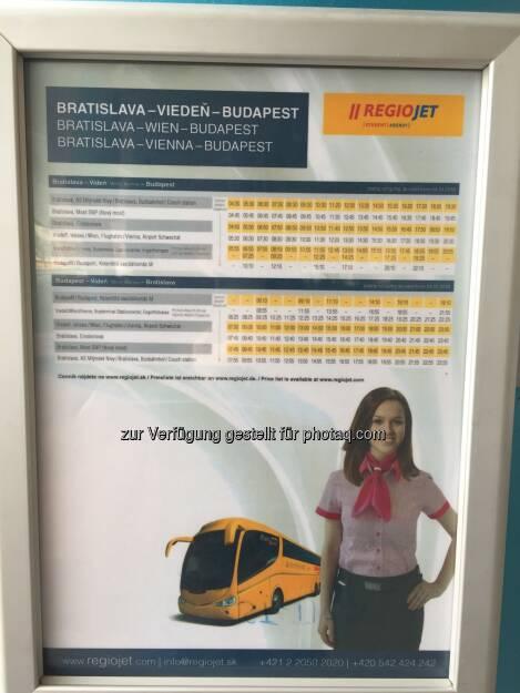 RegioJet-Fahrplan (22.04.2018)