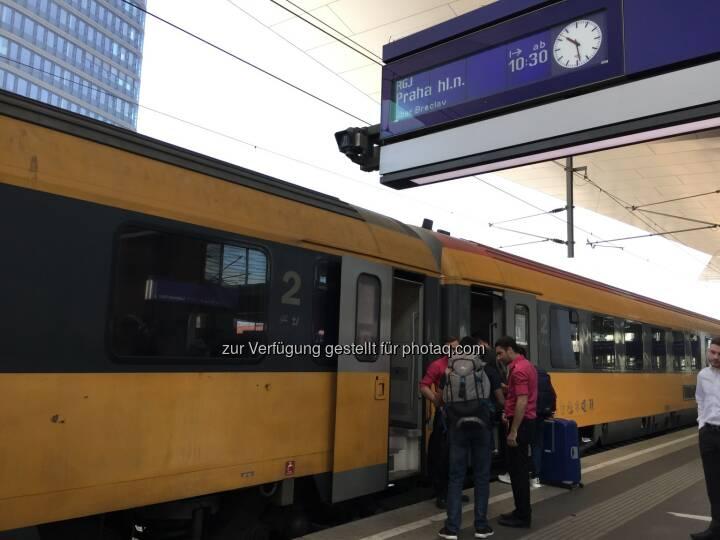 RegioJet Wien-Prag