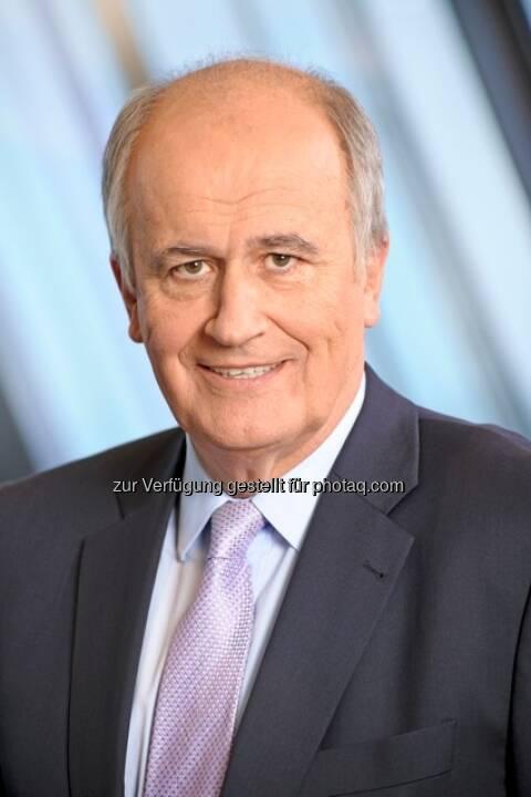 Karl Sevelda (63), im Vorstand für das Firmenkundengeschäft der RBI Gruppe verantwortlich, wurde mit sofortiger Wirkung zum neuen Vorstandsvorsitzenden ernannt (c) RBI