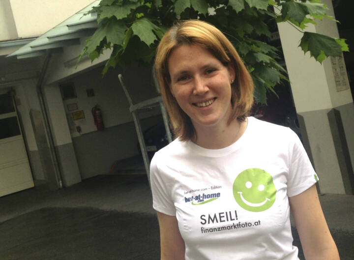 Express Smeil! - Susanne Leiter, Börse Express (Shirt in der bet-at-home.com-Edition)