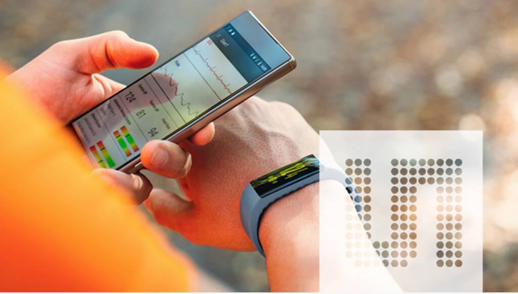 ams, Sensor, PA AS7024 vital sign sensor RGB, Fitnessband, Smarte Uhren und Sportuhren sowie Smart-Pflaster, Herzschlag, Smartphone, App, Gesundheit,  Quelle: ams, © Aussender (25.04.2018)