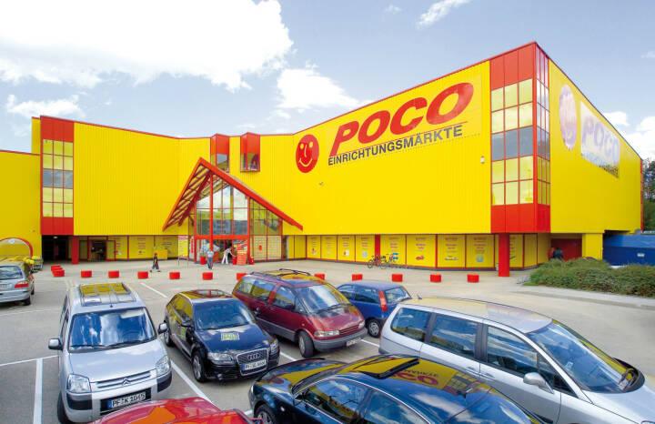 XXXLutz kauft Poco von Steinhoff, Bild: POCO-Filiale in Pforzheim, Copyright: POCO