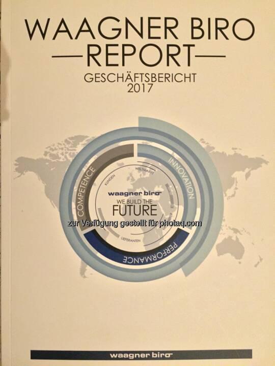Waagner-Biro-Geschäftsbericht 2017