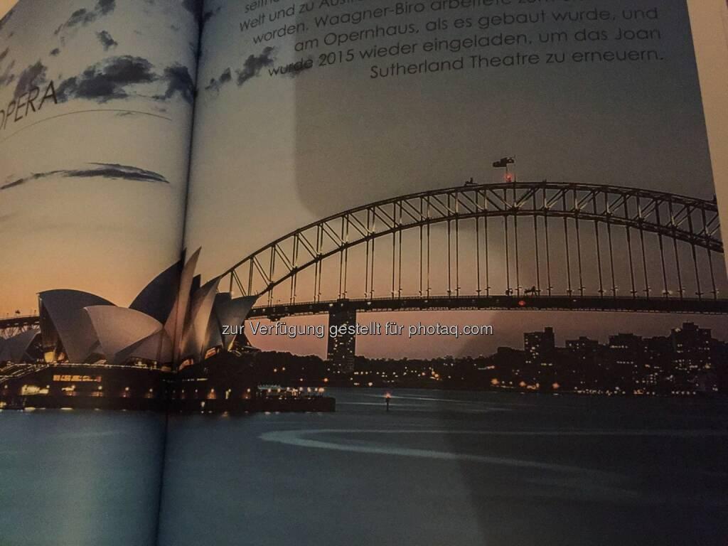 Eisenbahnbrücke bei der Oper in Sydney, aus dem Waagner-Biro-Geschäftsbericht 2017 (26.04.2018)