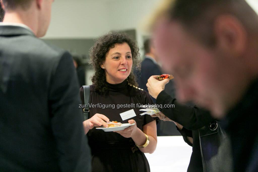 Stefania Tortorici (Deutsche Bank X-markets), © Martina Draper (27.04.2018)