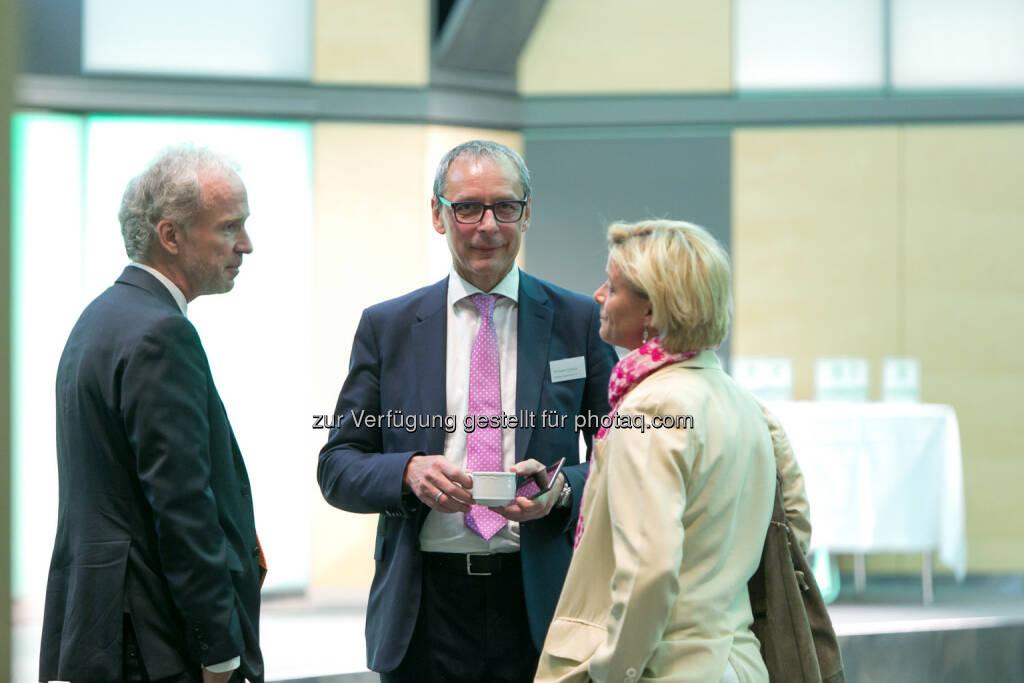 Christian Drastil (BSN), Wilhelm Celeda (RCB), Valerie Brunner (RCB), © Martina Draper (27.04.2018)