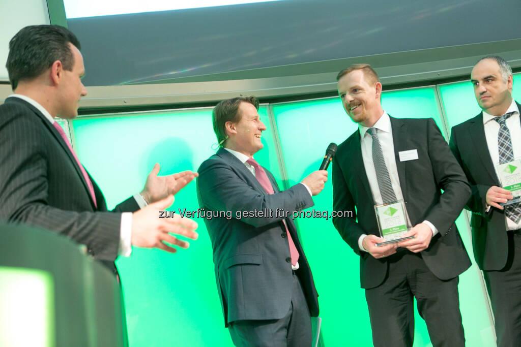 Christoph Boschan (Wiener Börse), Lars Brandau (DDV), Christian-Hendrik Knappe, © Martina Draper (27.04.2018)