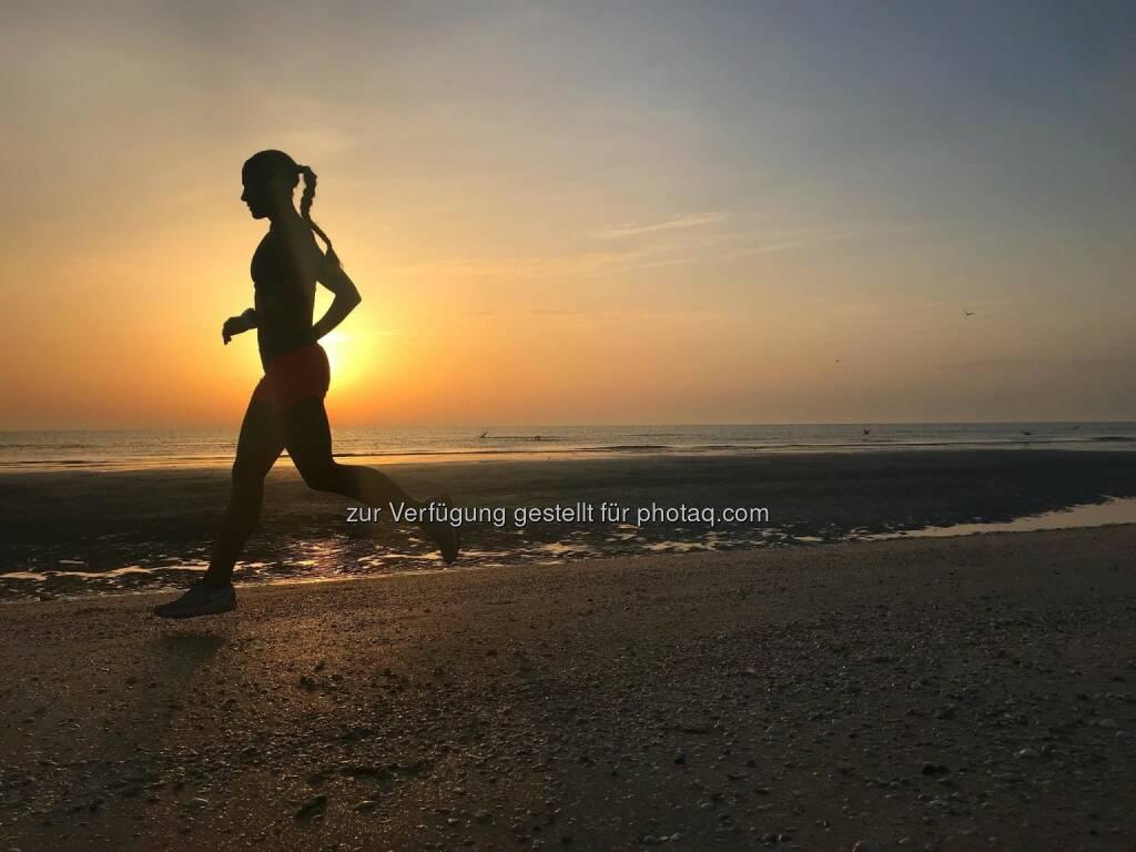 Strandlauf bei Sonnenaufgang (29.04.2018)