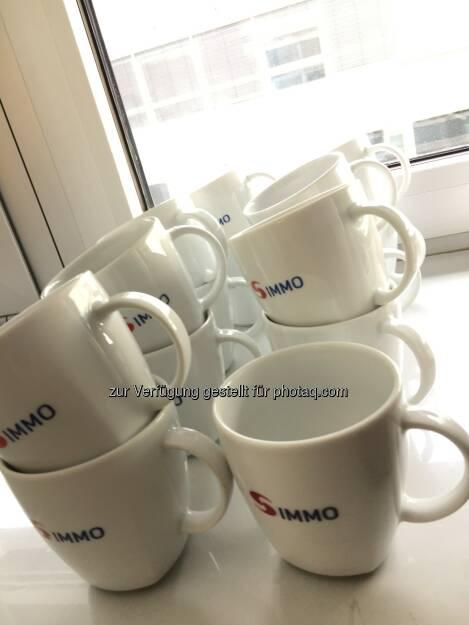 Stärkung für die S-Immo-Genussschein-Anlegerversammlung mit Kaffee, 30.4.2018 (01.05.2018)