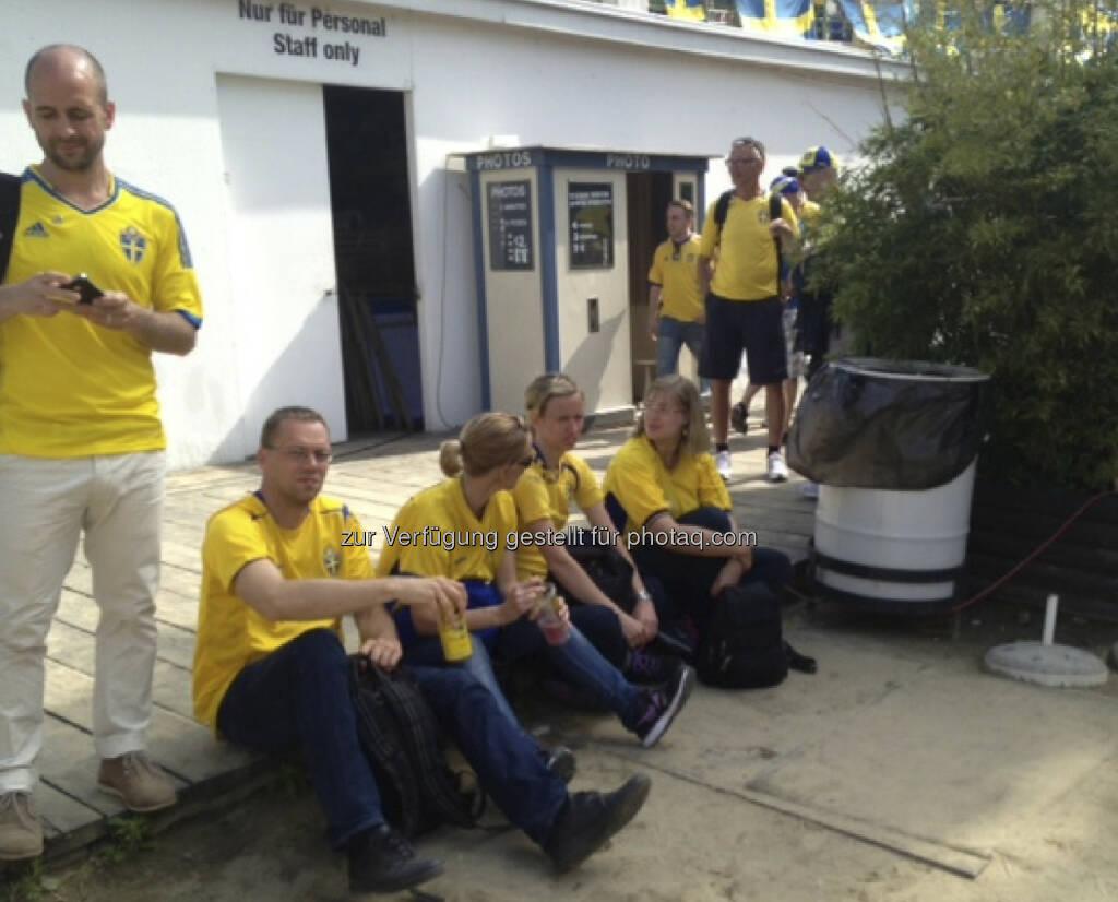 Die Schweden bei der Strandbar Herrmann (07.06.2013)