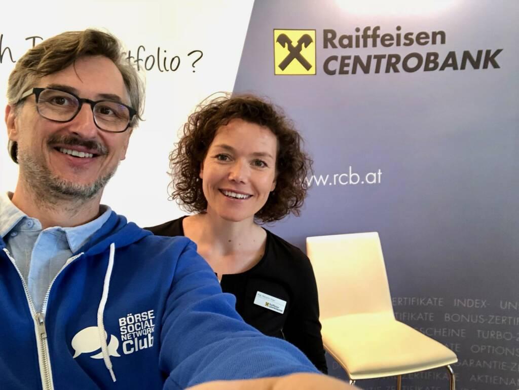 Josef Chladek (BSN), Marianne Kögel (RCB) (06.05.2018)