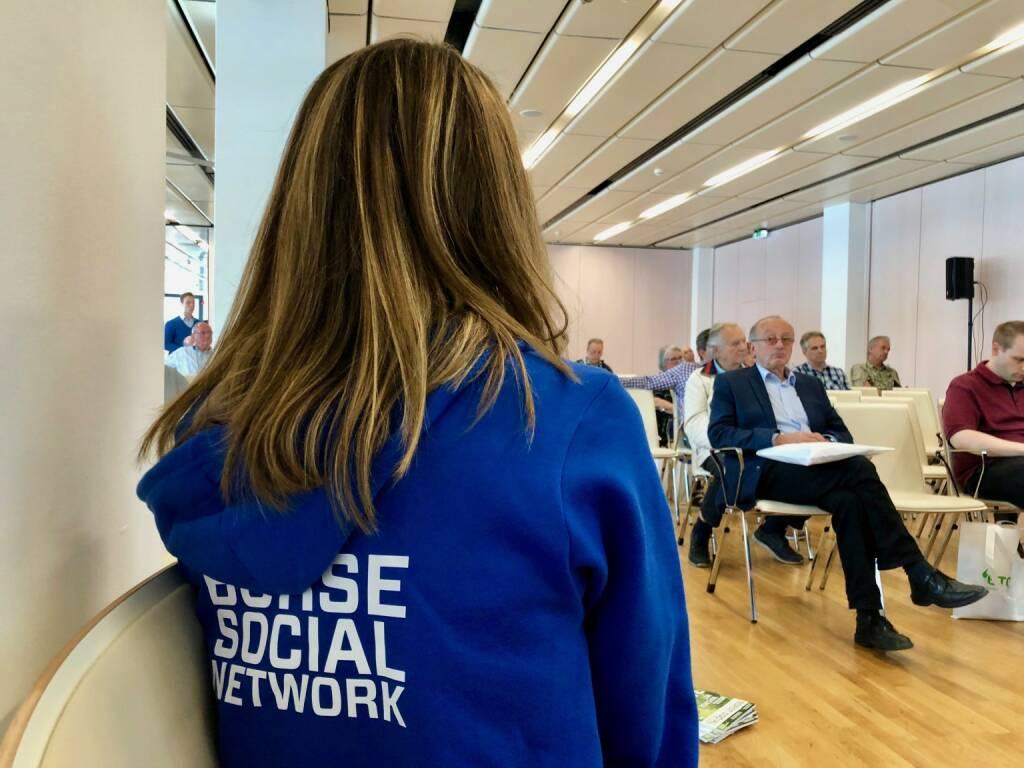Börse Social Network, Publikum (06.05.2018)