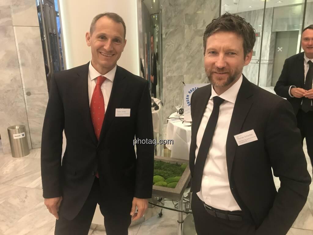 Stefan Dörfler (Erste Bank), Thomas Schaufler (Erste Bank) (06.05.2018)