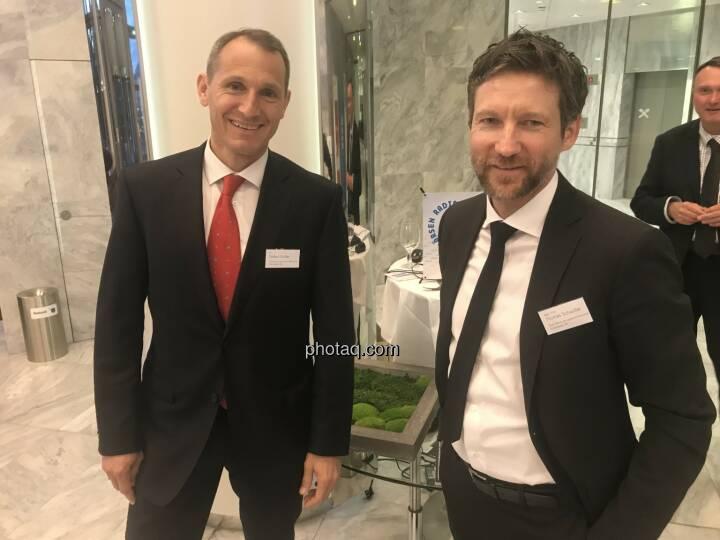 Stefan Dörfler (Erste Bank), Thomas Schaufler (Erste Bank)