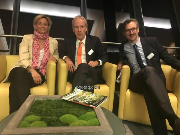 Valerie Brunner (RCB), Christian Drastil (BSN), Josef Chladek (BSN)
