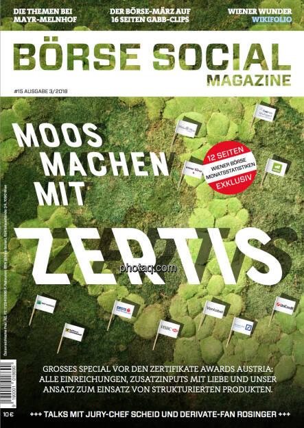 Cover http://www.boerse-social.com/magazine (06.05.2018)