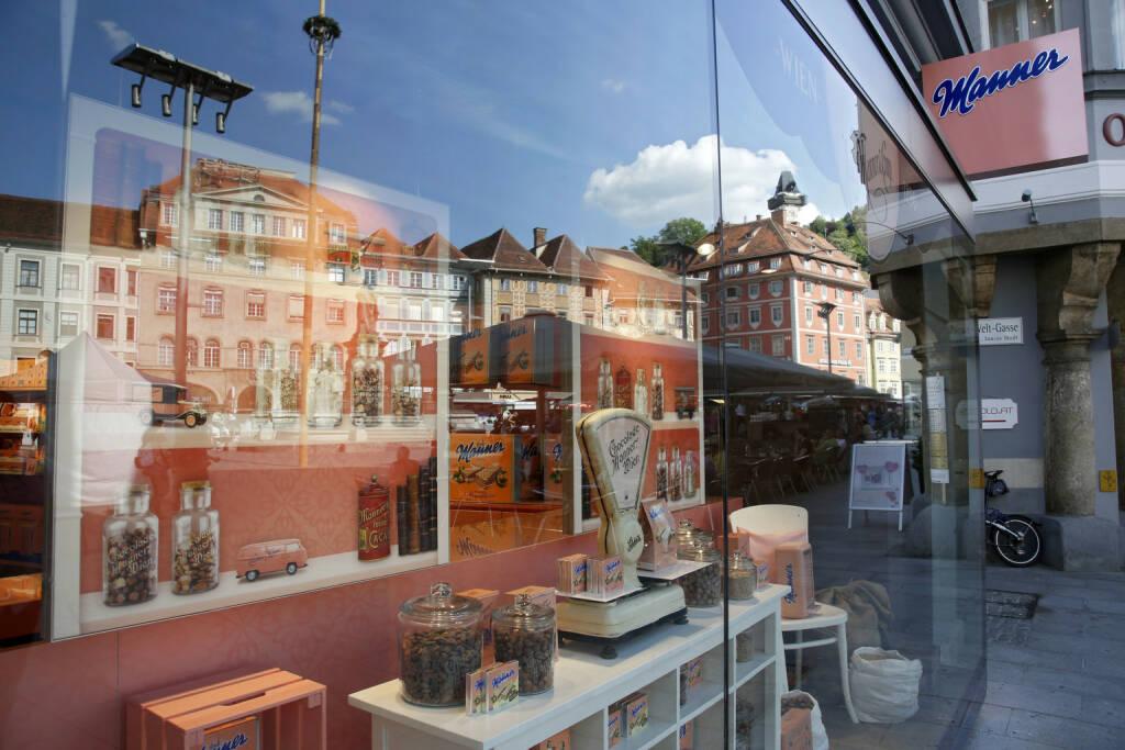 Josef Manner u. Comp. AG: Manner eröffnet Shop in Graz; Fotocredit:Manner/Noll (10.05.2018)