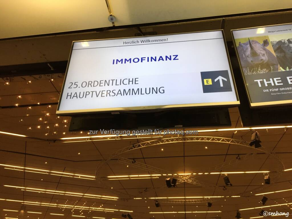 Immofinanz-HV 11.5.18 (13.05.2018)