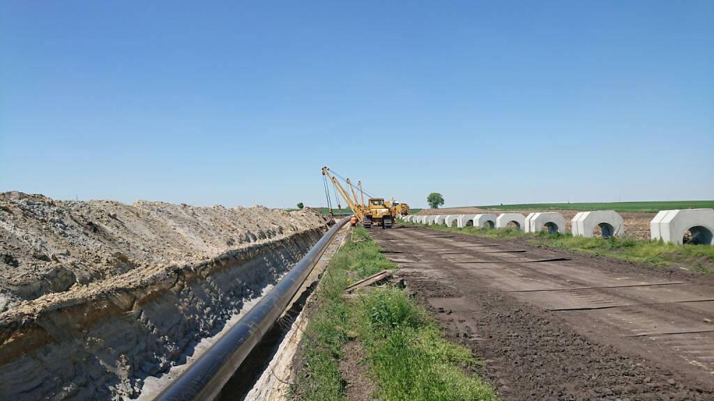 Bereits beim Bau des ersten Abschnitts der Hochdruckgasleitung auf der Strecke Lwówek-Odolanów konnte die PORR ihre Expertise beweisen. © PORR, © Aussender (15.05.2018)