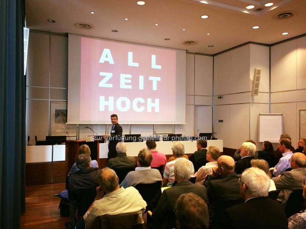 Allzeithoch (15.05.2018)