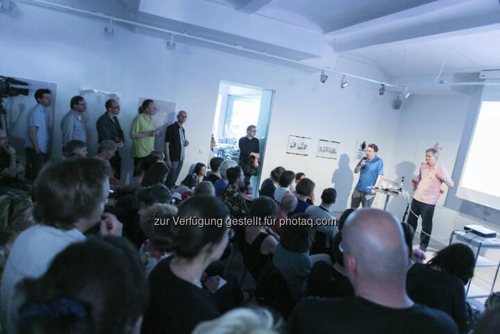 Anzenberger Gallery auf dem Vienna Photo Book Festival