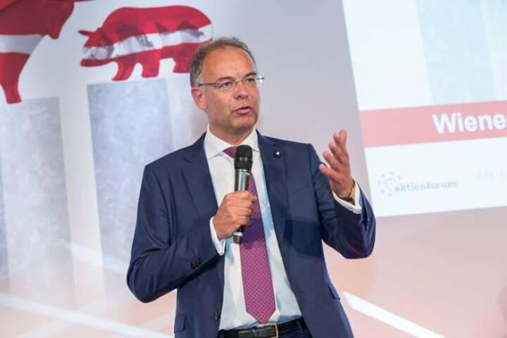 Wienerberger-CEO Heimo Scheuch, Credit: APA-Fotoservice