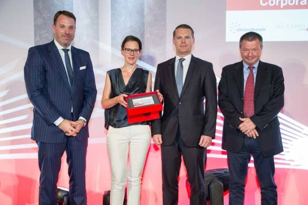 Wiener Börse Preis, Corporate Bond Preis, 3. Platz Immofinanz, Credit: APA-Fotoservice, © APA-Fotoservice/Wiener Börse (22.05.2018)